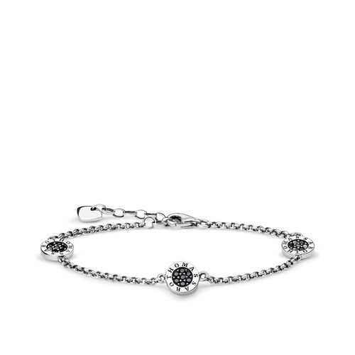 """bracelet """"black Classic pavé"""" from the Glam & Soul collection in the THOMAS SABO online store"""