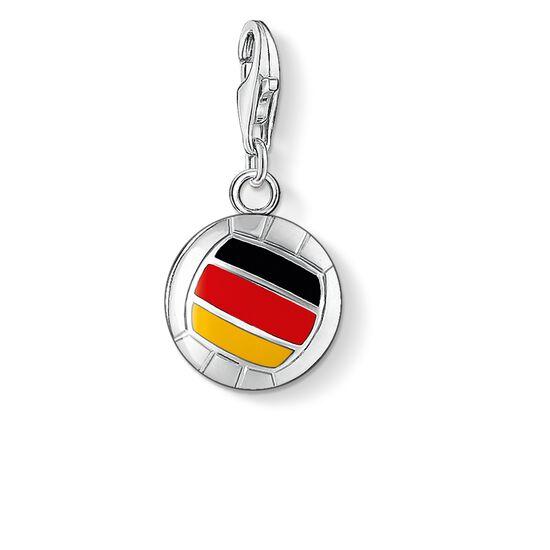 Charm-h auml ngsmycke  quot fotboll Tyskland quot  ur kollektionen i THOMAS  SABO  ... 37b730636f2cc