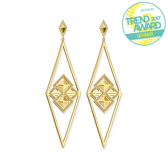 earrings triangle africa from the  collection in the THOMAS SABO online store