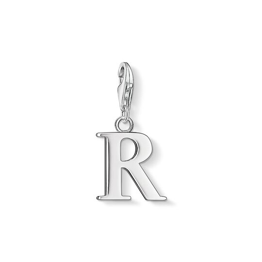 Charm pendant letter R from the Charm Club collection in the THOMAS SABO online store