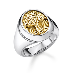bague Tree of Love or de la collection Rebel at heart dans la boutique en ligne de THOMAS SABO