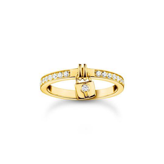 Ring Schloss gold aus der Charming Collection Kollektion im Online Shop von THOMAS SABO