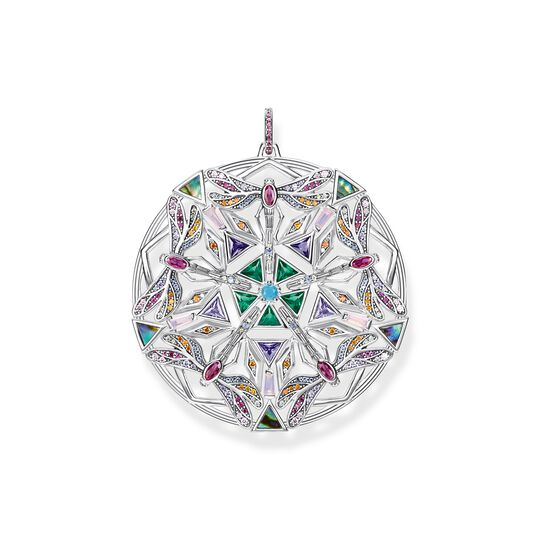 pendant amulet kaleidoscope dragonfly silver from the  collection in the THOMAS SABO online store