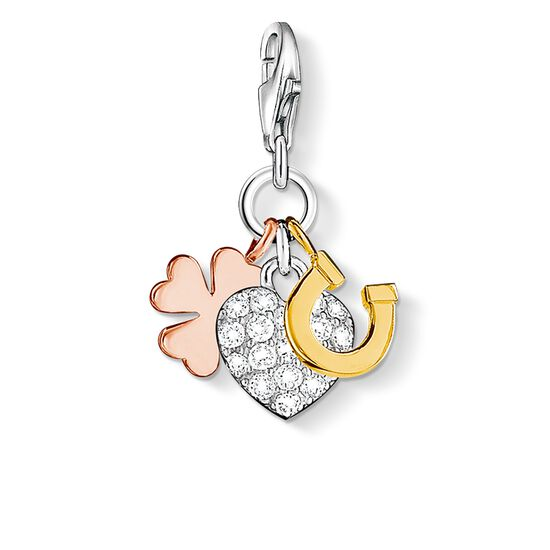 "Charm pendant ""good luck"" from the  collection in the THOMAS SABO online store"