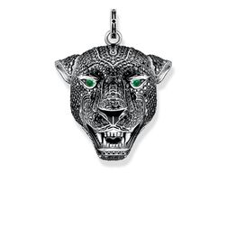 "pendant ""Black Cat large"" from the Rebel at heart collection in the THOMAS SABO online store"