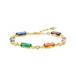Armband Farbige Steine mit goldenen Sternen aus der Glam & Soul Kollektion im Online Shop von THOMAS SABO