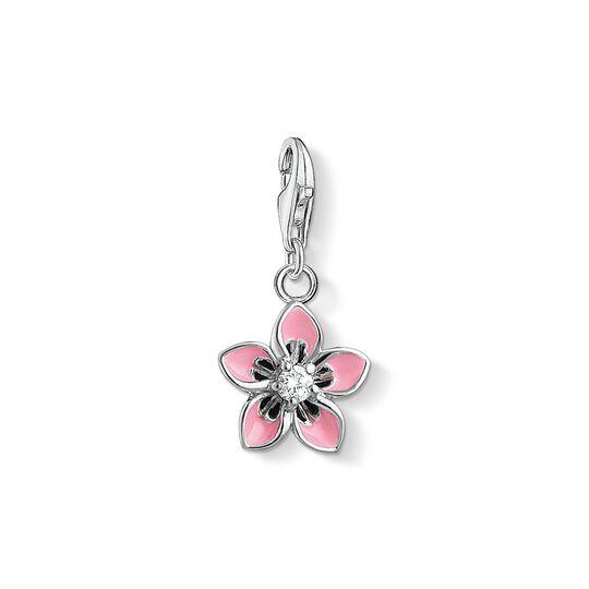 Charm-Anhänger Rosa Blume aus der Charm Club Kollektion im Online Shop von THOMAS SABO