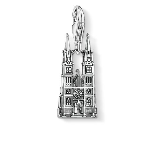 Charm pendant Prague Castle from the Charm Club collection in the THOMAS SABO online store