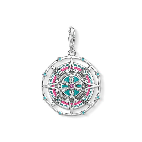 Charm pendant Mayan calendar from the Charm Club collection in the THOMAS SABO online store