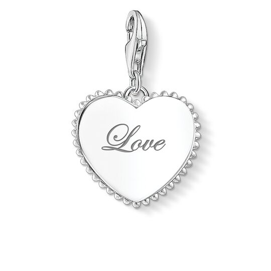 Charm pendant heart love from the Charm Club collection in the THOMAS SABO online store
