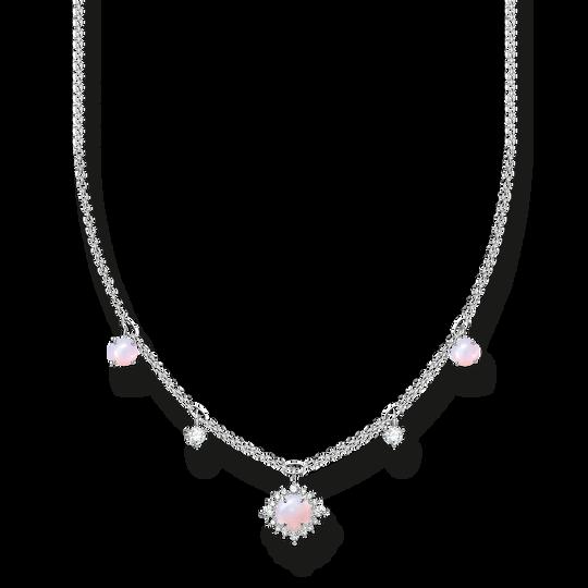 Cadena vintage efecto opalino rosa irisado de la colección Charming Collection en la tienda online de THOMAS SABO