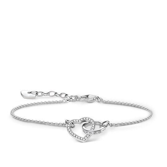 """bracelet """"TOGETHER Heart Large"""" from the Glam & Soul collection in the THOMAS SABO online store"""