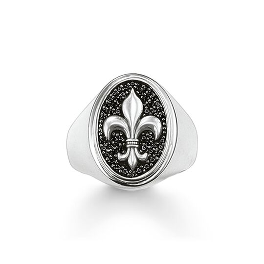 chevalière fleur de lys de la collection Rebel at heart dans la boutique en ligne de THOMAS SABO