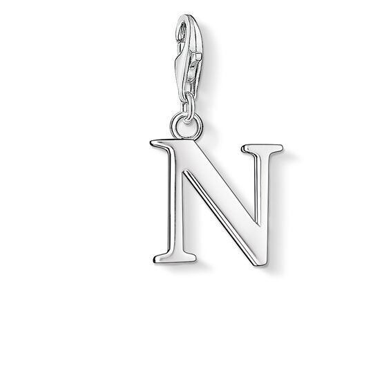 Charm pendant letter N from the  collection in the THOMAS SABO online store