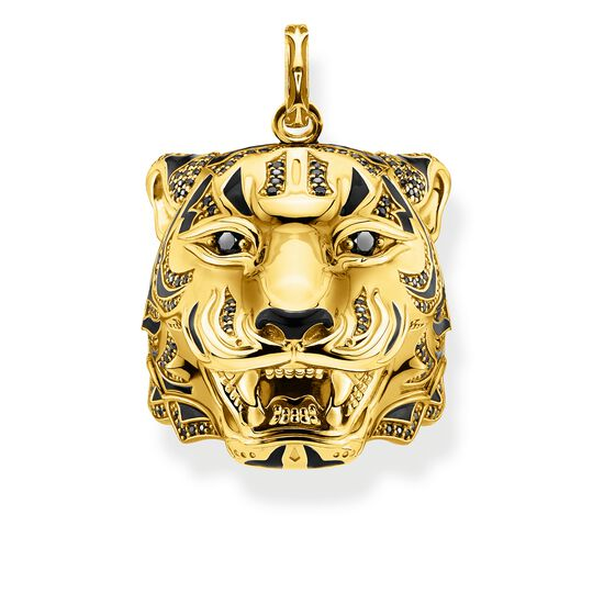 pendant tiger gold from the Rebel at heart collection in the THOMAS SABO online store