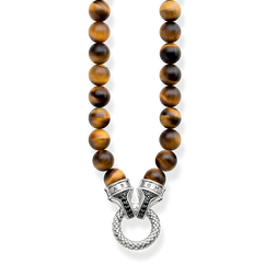 "necklace ""tiger's eye"" from the Rebel at heart collection in the THOMAS SABO online store"