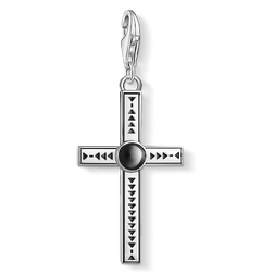 Charm pendant Ethnic cross from the Charm Club Collection collection in the THOMAS SABO online store