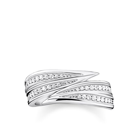 ring leaves silver from the Glam & Soul collection in the THOMAS SABO online store