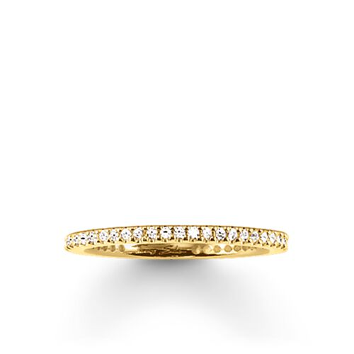 "eternity ring ""pavé"" from the Glam & Soul collection in the THOMAS SABO online store"