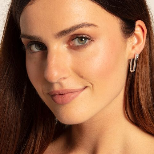 """earrings """"Iconic Skull"""" from the Rebel at heart collection in the THOMAS SABO online store"""
