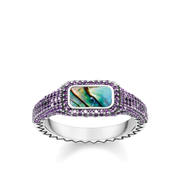 "ring ""Play of colours purple"" from the Glam & Soul collection in the THOMAS SABO online store"