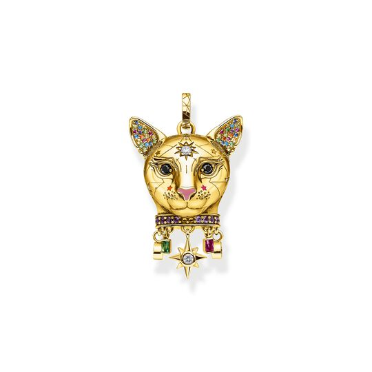 pendant Cat gold from the  collection in the THOMAS SABO online store