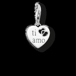 Charm-Anhänger Herz TI AMO aus der Charm Club Collection Kollektion im Online Shop von THOMAS SABO