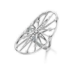"""ring """"Royalty Star silver"""" from the Glam & Soul collection in the THOMAS SABO online store"""