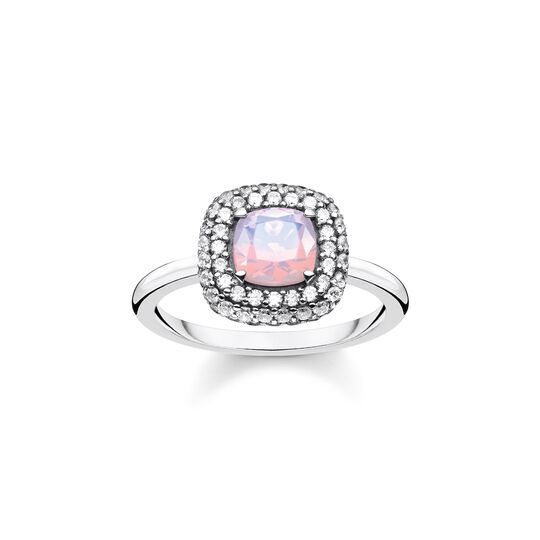 Ring opal-coloured stone from the  collection in the THOMAS SABO online store