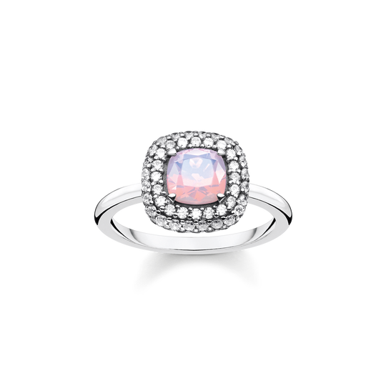 Ring Opal-Imitation shimmering pink from the Glam & Soul collection in the THOMAS SABO online store