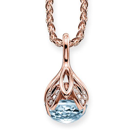 """cadena """"flor de loto azul"""" de la colección Glam & Soul en la tienda online de THOMAS SABO"""