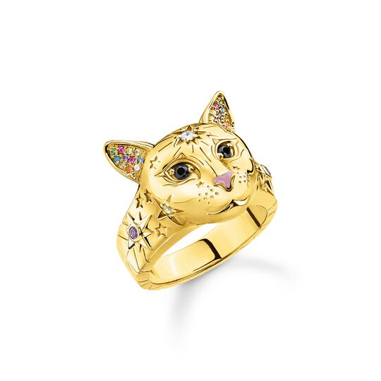 ring cat gold from the  collection in the THOMAS SABO online store