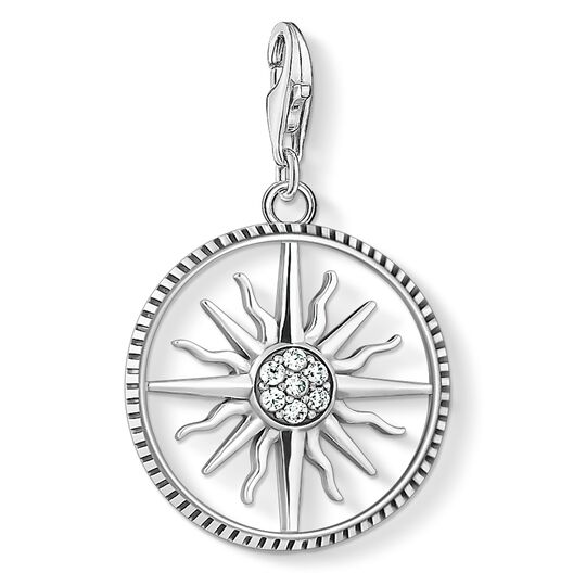 Charm pendant sun large from the Charm Club collection in the THOMAS SABO online store