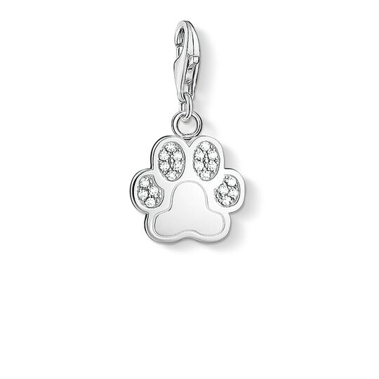 Charm pendant paw from the Charm Club collection in the THOMAS SABO online store