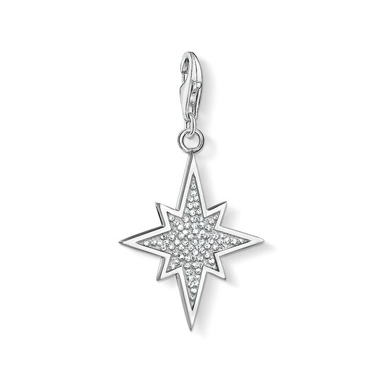 Charm pendant glitter star from the Charm Club collection in the THOMAS SABO online store