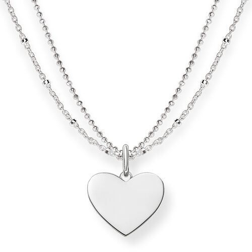 """necklace """"heart"""" from the Love Bridge collection in the THOMAS SABO online store"""