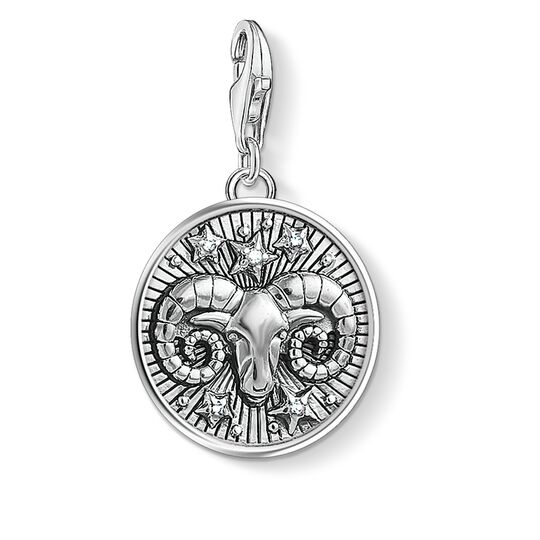 Charm pendant zodiac sign Aries from the Charm Club collection in the THOMAS SABO online store