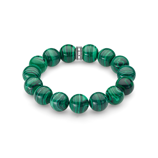 power bracelet green from the Rebel at heart collection in the THOMAS SABO online store