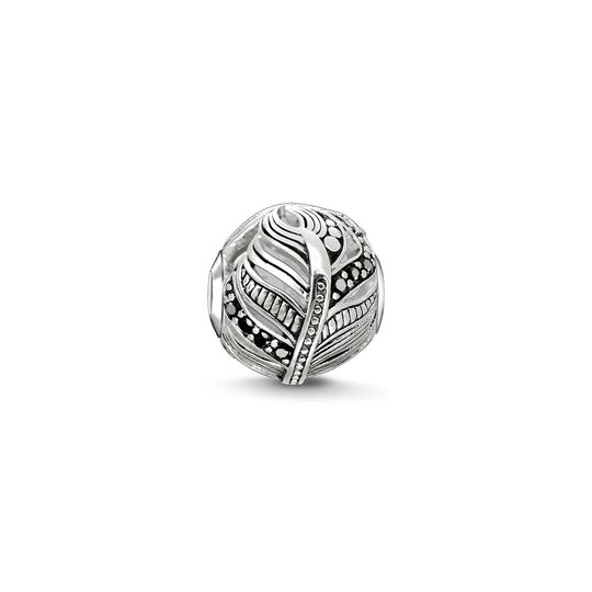 Bead feather from the Karma Beads collection in the THOMAS SABO online store