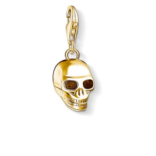 """Charm-Anhänger """"Totenkopf gold"""" aus der  Kollektion im Online Shop von THOMAS SABO"""