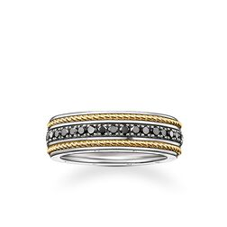 ring eternity cord from the Rebel at heart collection in the THOMAS SABO online store