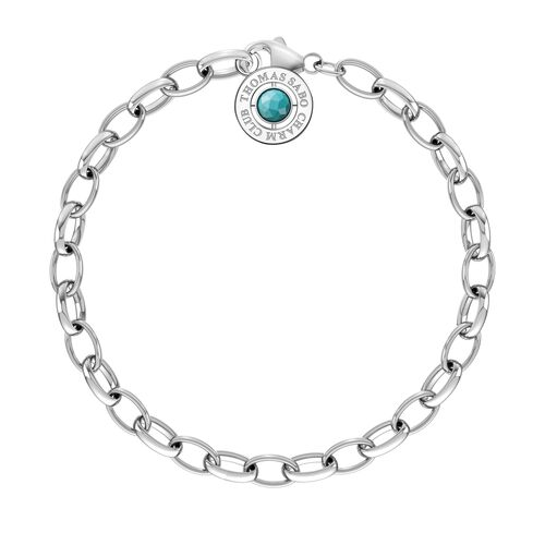 """Charm bracelet """"turquoise"""" from the  collection in the THOMAS SABO online store"""