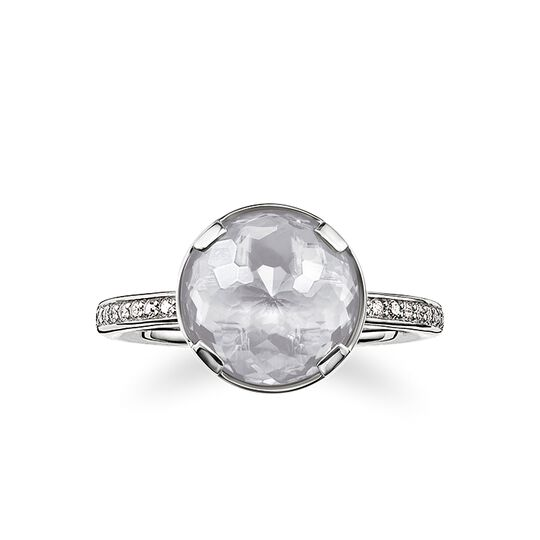 "solitaire ring ""crown chakra"" from the Chakras collection in the THOMAS SABO online store"