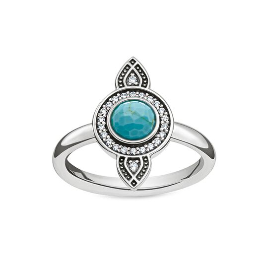 ring ethno dream catcher from the Glam & Soul collection in the THOMAS SABO online store