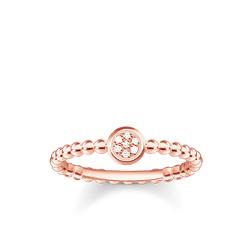 """ring """"Sparkling Circles"""" from the Glam & Soul collection in the THOMAS SABO online store"""