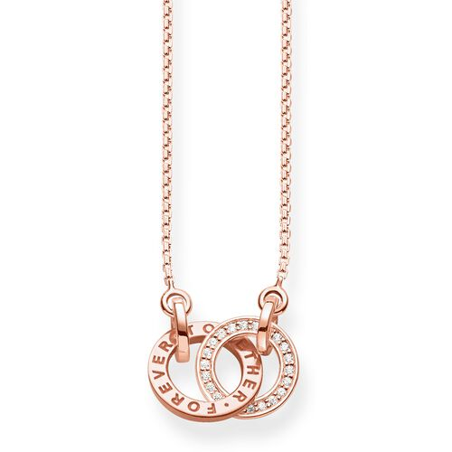 """necklace """"FOREVER TOGETHER Small"""" from the Glam & Soul collection in the THOMAS SABO online store"""