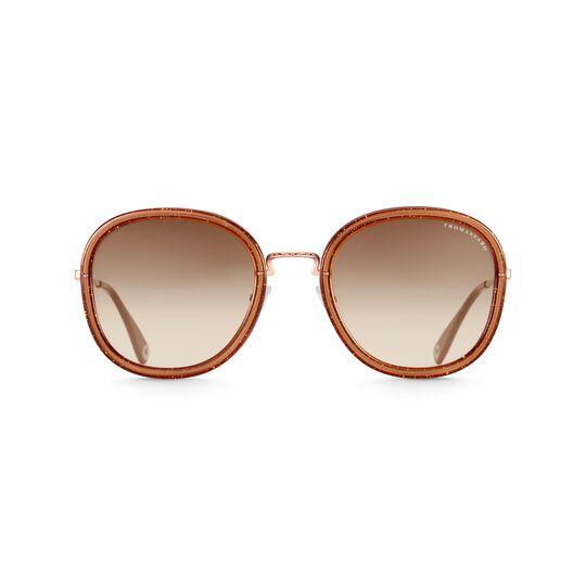 Lunettes de soleil Mia quadratiques marron de la collection  dans la boutique en ligne de THOMAS SABO