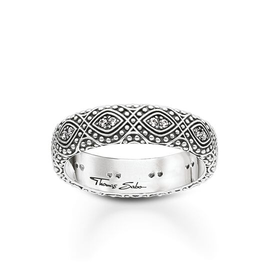 ring ethno ornaments from the Glam & Soul collection in the THOMAS SABO online store