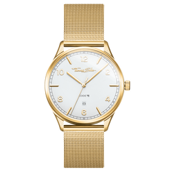 Montre unisexe CODE TS or jaune de la collection Glam & Soul dans la boutique en ligne de THOMAS SABO