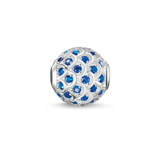 Bead blue fish from the Karma Beads collection in the THOMAS SABO online store